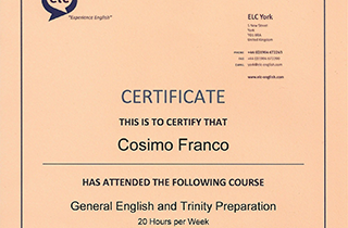 General English and Trinity Preparation